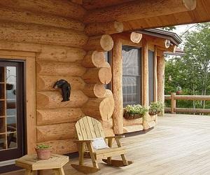 Дома из сибирского кедра